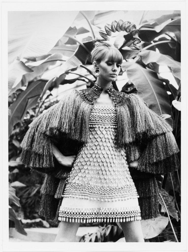 Terzo scatto di Yves Saint Laurent, Bambara Collection, Spring Summer 1967