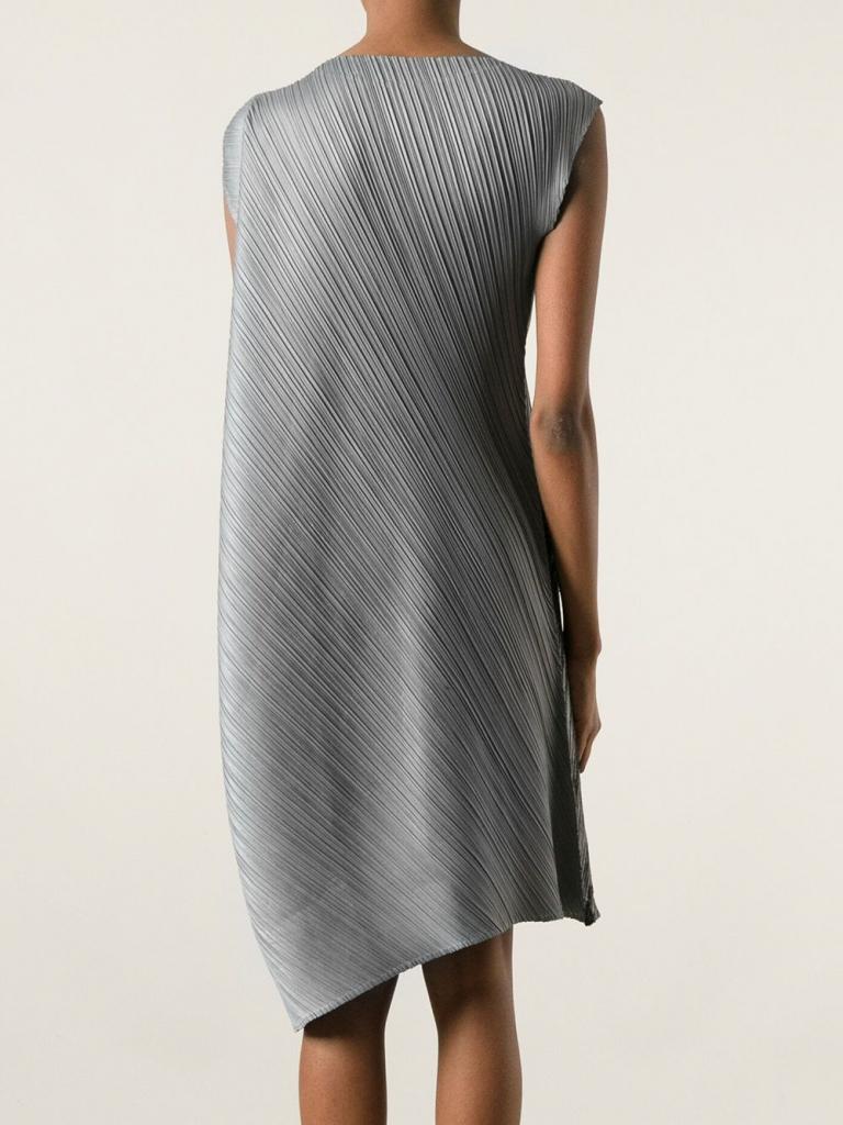 Miyake metallic dress