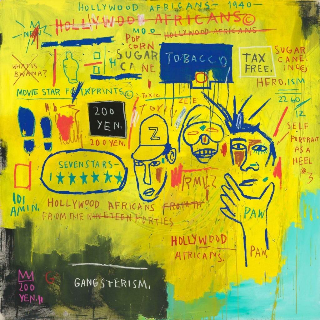 Basquiat opere