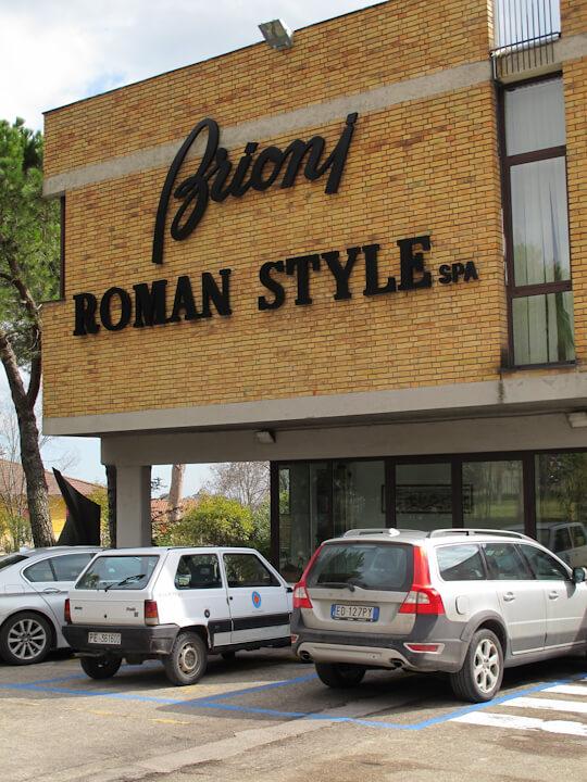 brioni roman style